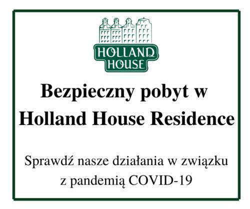 Bezpieczny Hotel Holland House Residence